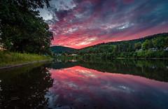 Allegheny Sunset (djl240) Tags: allegheny river sunset summer warren tokina1116mm nikond7200 purple