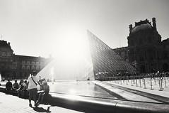 (hmtrn) Tags: monochrome blackandwhite louvremuseum museedulouvre paris france