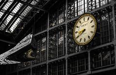 St Pancras (mickaelbouquet) Tags: london architecture gare londres horloge stpancras