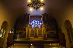 Catalonan organ (werner boehm *) Tags: church kirche catalonia organ architektur andorra katalonien wernerboehm