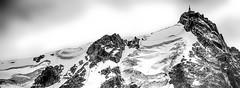 L'Aiguille du Midi......... (Malain17) Tags: aiguilledumidi altitude sommet hautesavoie hautemontagne alpes panorama sky clouds mountains ascension photography photographers pentax image nature paysage