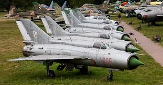 Polish AF MiG 21's