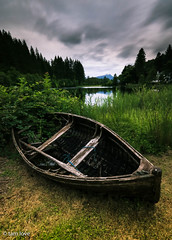 high and dry ( Explored 23/7/2016 ) (theclashcityrocker) Tags: lochard miltonbasin aberfoyle visitscotland scotland trossachs trossachsnationalpark boat benlomond canon70d lightroom adobe