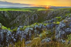 Layers to sunset (petrapetruta) Tags: sunset summer rocks valley