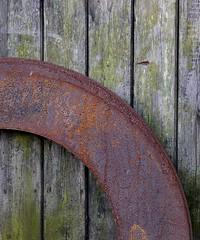 Rainbow dreamer (Grooover) Tags: rust rusty arc curve metal steel grooover