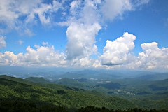 View from Brasstown Bald (Bella Lisa) Tags: brasstownbald georgia mountain view blueridgemountains clouds vista panorama helengeorgia richardbrussellscenichighway