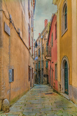 SL110616 Labin 08 (Sh4un65_Artistry) Tags: artwork buildings city croatia croatiaholiday2016 digitalart digitalpainting events landscape painteffect paintedphoto painterly places streets textured topaz topazimpression topaztextureeffects