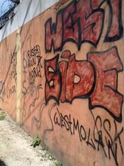 Graffiti at danger street ... (Sasha India) Tags: belizecity belize             caribbean