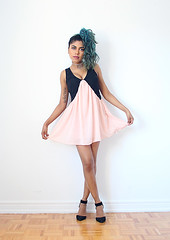 Dainty by Olivia A., Outerspace Mermaid Blogger from Tokyo, Japan (9lookbook.com) Tags: 70s alternative black bluehair boho chic choker classic cute cutoffshorts cutout dress eclectic everyday flare floral fringe kawaii lace lacedress longcoat mesh parisian pearls pink pinkdress plaid platforms sailormoon sexy sheer spring strappyheels stripes summer summerfashion tokyofashion trends unique unqiue velvet velvetpants whitedress winter