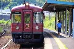 Local station (Teruhide Tomori) Tags:   akamatsu     japan railway railroad kyoto shishostation local landscape maizuru tango  kyototangorailway ktr train