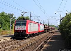 CFL Cargo 4013 + 4016, Berchem 07.07.2013 (Trainspotting-Wiki) Tags: cfl cargo 4000 4013 4016 hagenbach differdange berchem