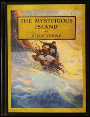 """""""The Mysterious Island"""" by Jules Verne. NY: Charles Scribner's Sons, 1927. Pictures by N. C. Wyeth (lhboudreau) Tags: illustration book artwork drawing illustrations drawings books wyeth bookcover julesverne bookart hardcover 1927 verne firstedition colorart vintagebook ncwyeth mysteriousisland scribners hardcovers classicfiction hardcoverbooks themysteriousisland hardcoverbook charlesscribnerssons classicstory colorcover charlesscribners classictale"""