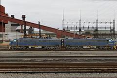 CTVX 061 & 062 (gman.light) Tags: ohio cleveland clevelandohio locomotive e9 e8 steelmill emd arcelormittal emde8 ctvx clevelandterminalandvalleyrailwayincorporated ctvx61 ctvx62