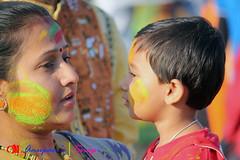IMG_0054 (anupamadhikary) Tags: colorful holi utsav basanta dol 2015 santiniketan