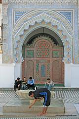 Qarawiyine mosque Fez Morocco (jan_hoogland) Tags: morocco fez maroc fes fès