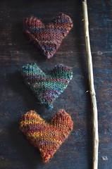 Knit Hearts.