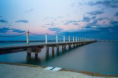 Narrabeen Sunset (Sarceq) Tags: ocean longexposure beach water sydney australia coastal narrabeen oceanpool