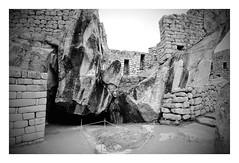 Temple of the Condor, Machu Picchu (Ron's travel site) Tags: peru southamerica trekking 35mm walking temple hiking 1998 filmcamera machupicchu om1 olympusom1 incatrail templeofthecondor mar1998 flickrandroidapp:filter=none ronstravelsite ronsspotuk