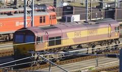 66070. (wagn1) Tags: kent folkestone generalelectric class66 emd ews diesellocomotives dbschenker dollandsmoor electromotivediesel britishrailclass66 cocodieselelectriclocomotives