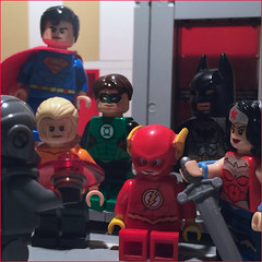 Justice League #21 (Supremedalekdunn) Tags: friends boy woman fish man green sorry comics wonder is justice dc drops fight team flickr lego you 21 or space flash group over voice super superman explore where levi batman oh 16 vs alive lantern 20 cyborg fighting 18 stories 19 epic fastest league huzzah booyah fishy noes aquaman acumen supremedalekdunn