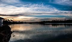 Lagoa do Céu (Centim) Tags: cidade minasgerais brasil nikon foto br capital paisagem céu mg pôrdosol nuvens belohorizonte lagoa fotografia tarde bh pampulha estado crepúsculo américadosul país sudeste d90 lagoadapampulha crepúsculovespertino continentesulamericano