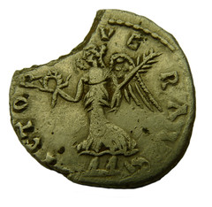 Denarius of Septimius Severus 193 to 211 AD rev (Welcome to The PAST) Tags: gold hammered roman brooch medieval celtic viking flint saxon scraper neolithic ironage fibula romanobritish metaldetecting stater knapped samianware metaldetectingfinds