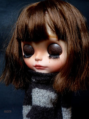 Iriscustom Ooak Blythe Art Doll Naé