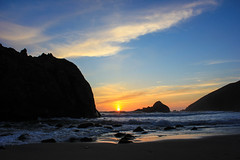 pfeiffer sunset (naaandrea) Tags: california sunset nature pacific bigsur pch highway1 californiacoast pfeifferbeach keyholerock