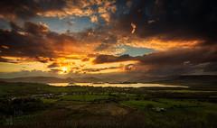 Light Show (GenerationX) Tags: sunset sky sun mountains water alexandria clouds landscape evening scotland unitedkingdom dusk scottish neil fields rays loch drama trossachs balloch lochlomond barr dumpling luss duncryne bestview smallhill lochlomodn