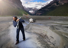 Play Time is Over (Modifeye) Tags: surreal surrealism photomanipulation photoshop lake louise rockies alberta banff plug drain chain realistic inspiring inspiration explore create travel cool awesome playtimeisover plumber cs6