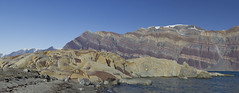 Greenland (richard.mcmanus.) Tags: greenland scoresbysound landscape panorama mcmanus rocks geology arctic