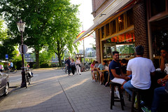DSCF1391.jpg (amsfrank) Tags: amsterdam oost people candid summer sunshine amstel weesperzijde