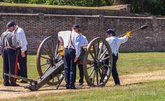 Fort-Washington-39 (vaabus) Tags: fortwashington fortwashingtonmaryland fortwashingtonpark bastion casemate cannon 24poundercannon caponniere civilwardefensesofwashington fortification