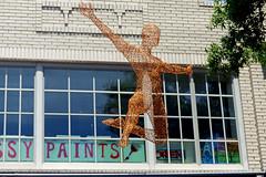 In Thin Air (FagerstromFotos) Tags: sculpture art wire aluminum greenvillesc artisphere artfestival michaelgard