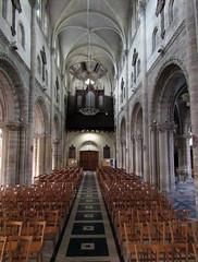 Église Sainte Croix, St Lô 2016 (Dave_Johnson) Tags: stlô saintlô saintlo stlo normandie normandy églisesaintecroix église eglise saintecroix church france