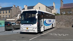 Former Jacksons of Blackpool coach now with Tours in the Isle of Man - Castletown 1st August 2016. (david_umpleby) Tags: h111man tours pro tous jacksons coaches castletown isle man