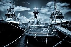 work hard (paddy_bb) Tags: italien sky italy seascape water mediterranean harbour hafen laspezia 2016 ligurien nikond5300 paddybb