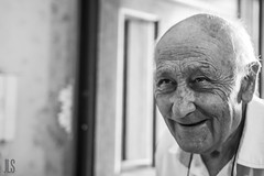 A fully lived life (Jean-Luc Servino) Tags: oldman ancient blackandwhite blackwhite grey jeanlucservino portrait gianlucaservino wrinkles