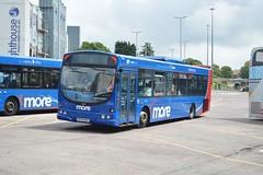 2224 HF54HGX (PD3.) Tags: bus buses ahead station volvo go quay more dorset wright bournemouth poole 2224 centenary goahead hgx morebus hf54 hf54hgx