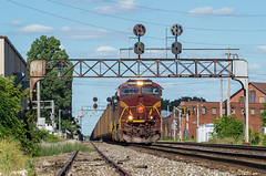 NS 776 Canton, OH (Nolan Majcher) Tags: 8102 776 canton oh pennsylvania prr heritage norfolk southern fort wayne line ns