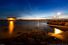 Dernires lueurs (Ludtz) Tags: ludtz canon canoneos5dmkiii 14mm 14|28 trvignon bzh bretagne breizh brittany 5dmkiii mer ocean atlantic atlantique rock rocher rocks rochers sea port harbor blue bleu