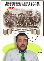 SatiRebus Psico-Salviniano (Moise-Creativo Galattico) Tags: rebus satira moise enigmistica salvini moiseditoriali satirebus editorialiafumetti comicsrebus rebussatirici