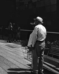Love actually is everywhere.  Love Actually @High Line, NYC  #love #loveactually #newyorkcity #newyorker #blackandwhite #bnw #monochrome #people #life #streetphotography (thanakrit_big) Tags: instagramapp uploaded:by=instagram streetphotography travel life newyorker m9 summicron