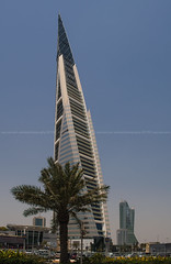 bahrain world trade center (azahar photography) Tags: bahrain bluesky shoppingmall manama bahrainworldtradecenter datestree bahrainfinancialcenter modamall mclarenbahrain
