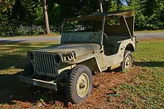 WWII Jeep (redhorse5.0) Tags: militaryjeep worldwartwojeep usarmy militaryvehicle redhorse50 sonya850 armyjeep 57thfightergrouprestaurant chambleega dekalbpeachtreeairport oldrustyjeep