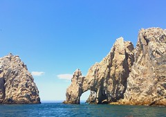 The famous arch (brookedalton) Tags: pacific beach arch cabo water mexico ocean