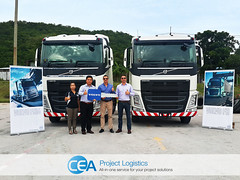 CEA Expand Fleet With New Volvo FH 440 (CEA Project Logistics) Tags: brown andy thailand prime michael volvo hall asia andrews cross border chain transportation trucks earl laos asean logistics movers pdr supply aec fh440 wwwceaprojectscom wwwfacebookcomceaprojects
