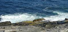 Surf at Pemaquid Point, Maine (Martin LaBar) Tags: maine lincolncounty pemaquid pemaquidpoint atlantic atlanticocean surf waves rock