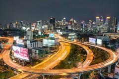 DSC_3822 (Ignacio Blanco) Tags: thailand bangkok metropolis oriental orientalcity future night lighttrails longexposure infrastructure highway cityscape skyscrapers skyline vantagepoint ratchapraroptowermansion