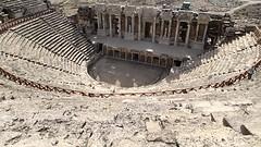 Ancient Rome. Roman Theatre, Hierapolis, Pammukale, Turkey, 1st century CE (mike catalonian) Tags: architecture 1stcenturyce turkey pammukale hierapolis theatre ancientrome